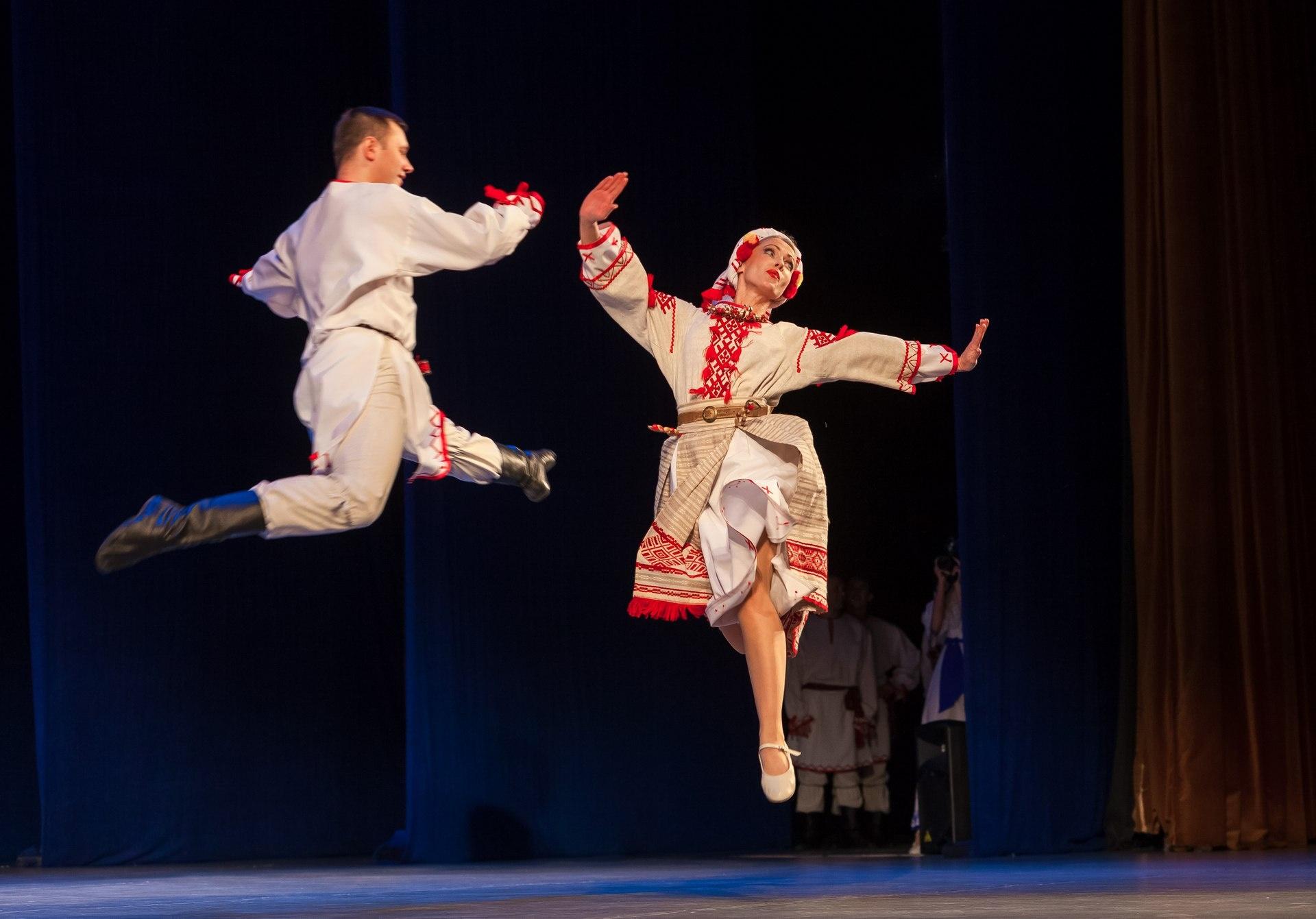 Плавность движений – главное отличие национальных танцев Беларуси