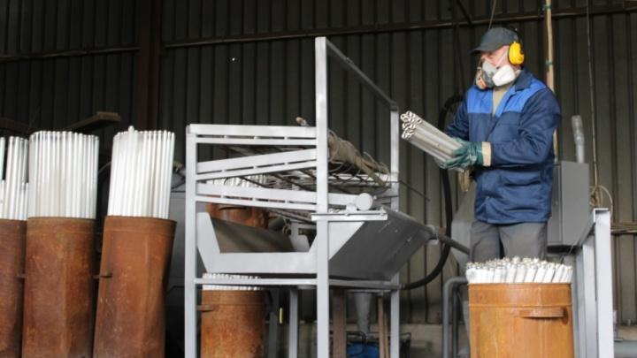 Выброшенные ярославцами градусники и люминесцентные лампы переработают в Московской области