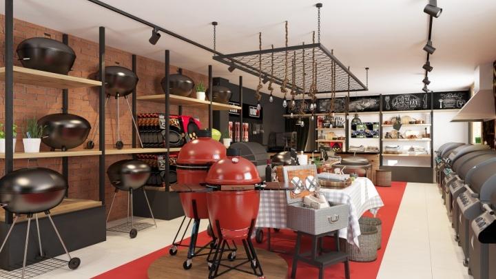 В Челябинске открылся третий в России дилерский магазин грилей Weber World