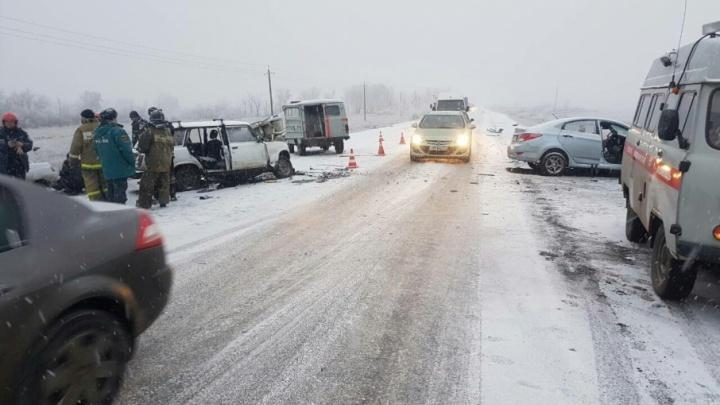 Юг области уже засыпает: в ГИБДД предупредили о надвигающемся на Челябинск снегопаде