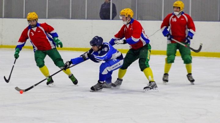 В Архангельске определили лидеров первого этапа чемпионата Поморья по мини-хоккею с мячом