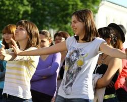 Танцевальный марафон покорил ярославцев