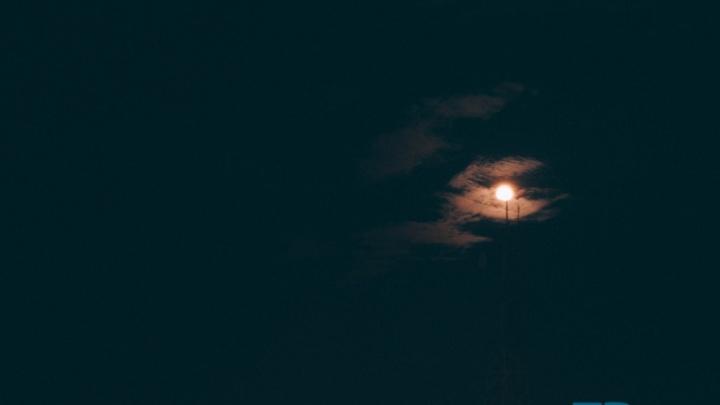 В январе тюменцы увидят огромную кровавую Луну