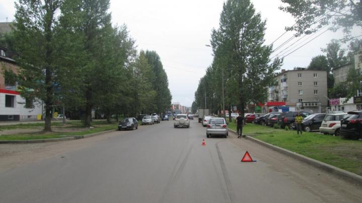 В Ярославле «Дэу-Матиз» сбил девочку