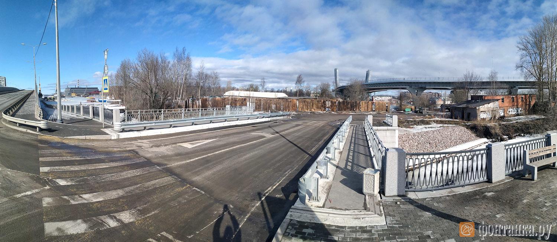 новый мост на Серный