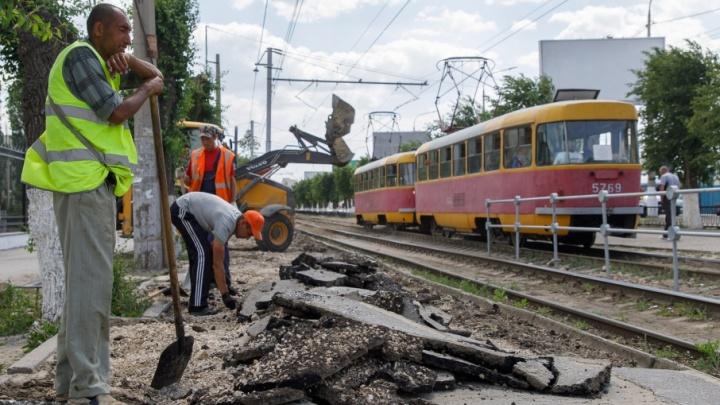 В Волгограде срочно закрыли остановку «Мамаев курган»