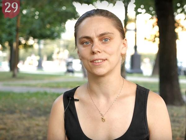 Яна Теплицкая//кадр из видео/Команда 29/YouTube