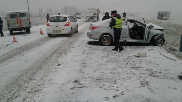 Выросло число жертв аварии на Южном Урале с семью пострадавшими