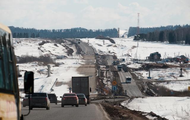 Участок трассы «Пермь–Екатеринбург» от Лобаново до Кояново достроит компания из Сургута