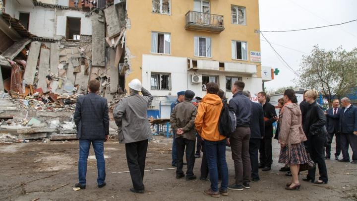 В Волгограде на месте взорвавшегося дома может появиться сквер