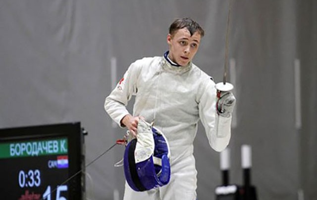Самарец выиграл золотую медаль на мировом первенстве по фехтованию