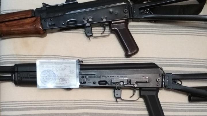 Тысяча патронов, автомат и обрез: в Котласе сотрудники ФСБ накрыли оружейный арсенал