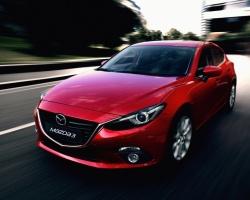 Архангельск познакомился с новой Mazda3