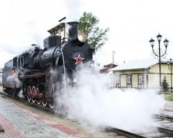 Впервые состоялся паровозный тур на родину Чехова