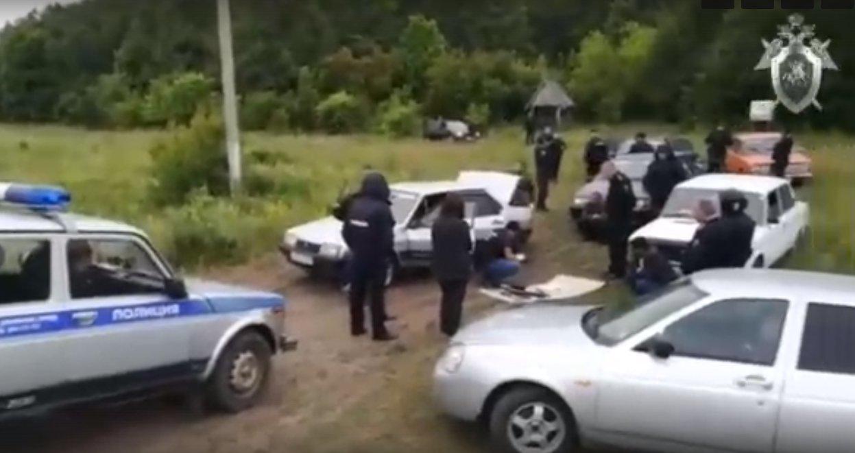 Кадр из видео СК РФ в vk.com/sledcomru