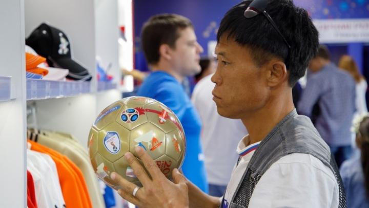 В Волгограде открылись официальные магазины FIFA