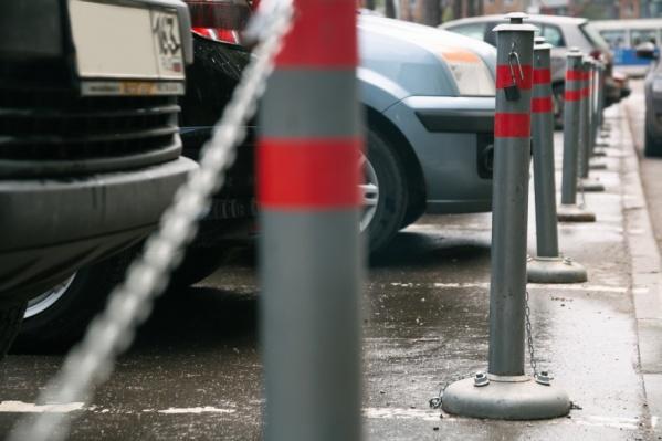 Предприниматель обустроил стоянку без разрешения областных властей