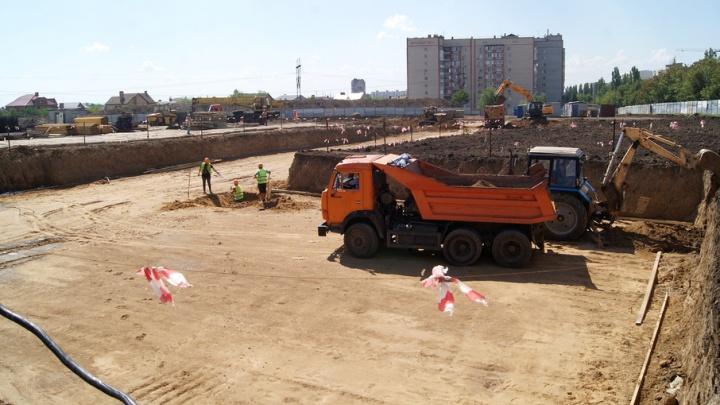 В Аксае строят школу и детский сад
