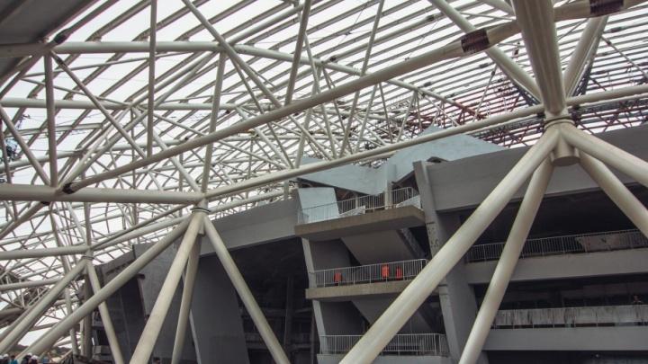 На стадионе «Самара-Арена» до середины декабря установят систему видеонаблюдения