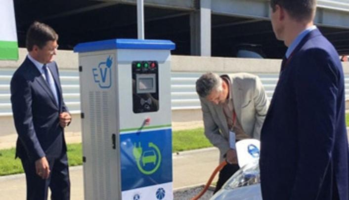 В Перми до конца года появится заправка для электромобилей