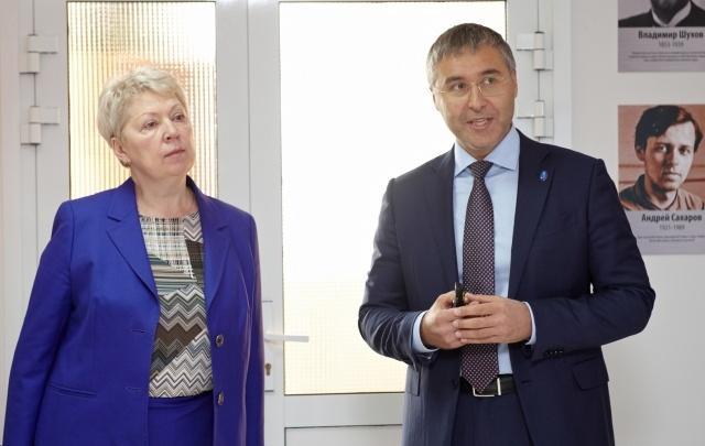 Министр образования и науки РФ начала свое знакомство с Тюменью с визита в ТюмГУ