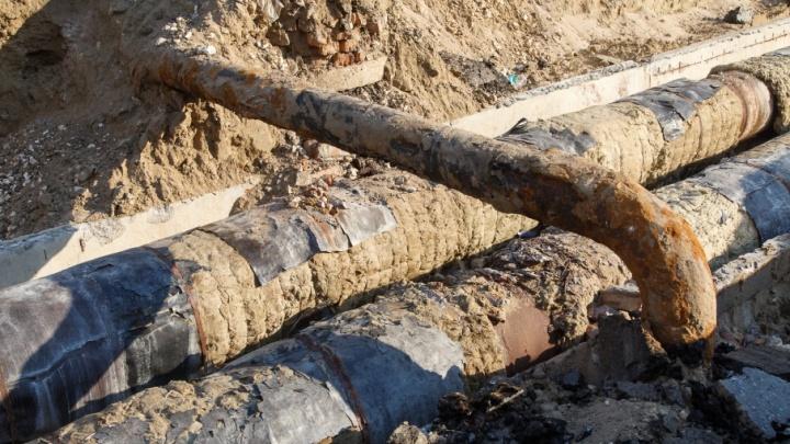 В Дзержинском районе Волгограда дали горячую воду