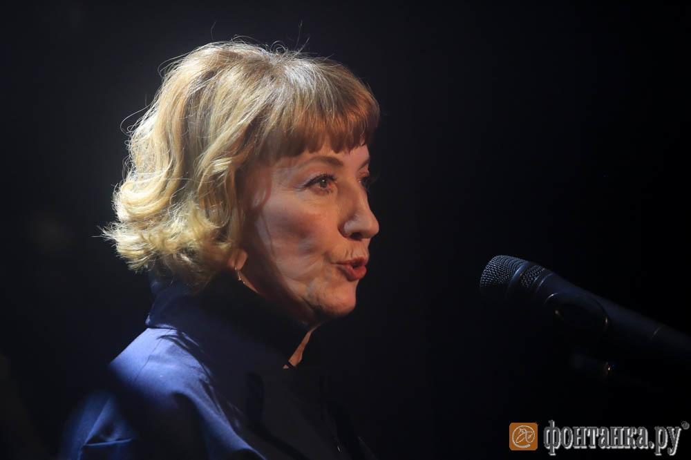председатель Союза журналистов Петербуга и области Людмила Фомичева