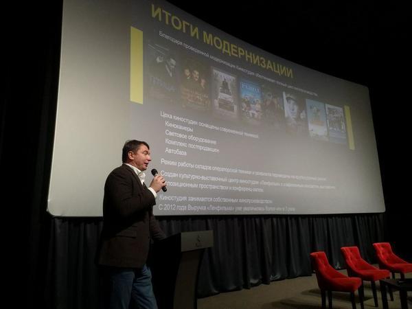 Эдуард Пичугин, директор «Ленфильма» / автор фото — Алина Циопа / «Фонтанка.ру»