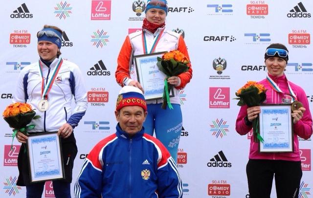 Тюменская биатлонистка Анастасия Толмачева стала бронзовым призером марафона