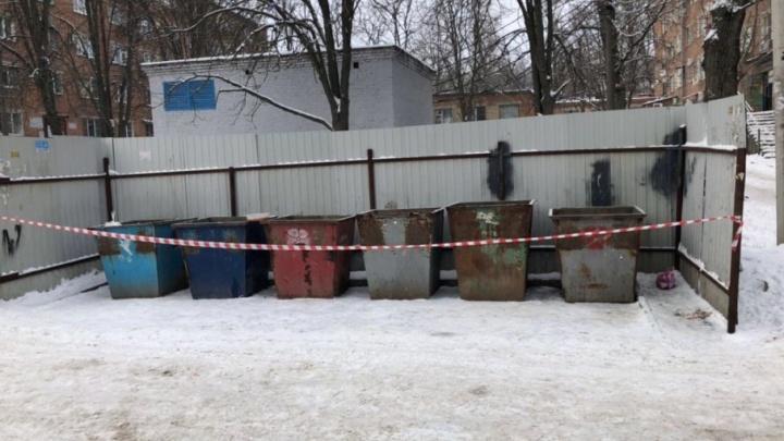 В Ростове в мусорном баке нашли труп новорожденного младенца