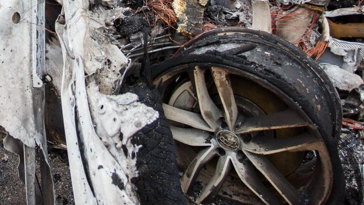 В Дубовском районе выгорел дотла кроссовер Great Wall Hover