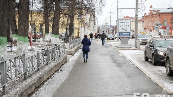 Власти Перми проверят, как управляющие компании чистят дворы от снега