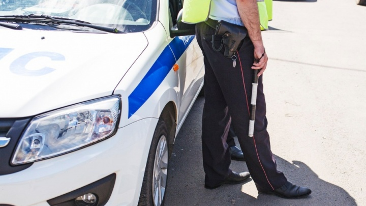 Полицейские гонялись за пьяным водителем на «пятерке»