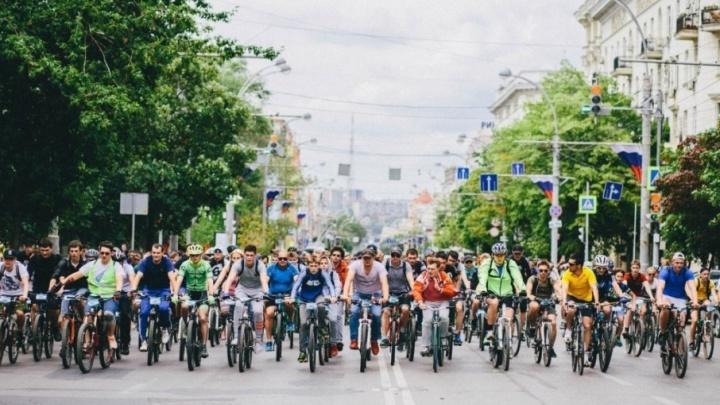 В Ростове из-за велосипедистов частично перекроют центральные улицы