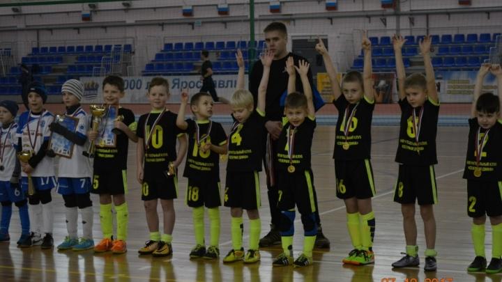 Архангельские футболисты выиграли первенство Ярославля