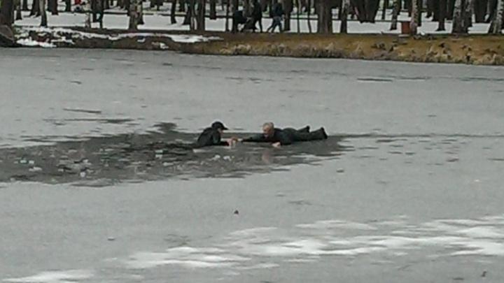 В Ярославле наградят дворника, спасшего мальчика из пруда