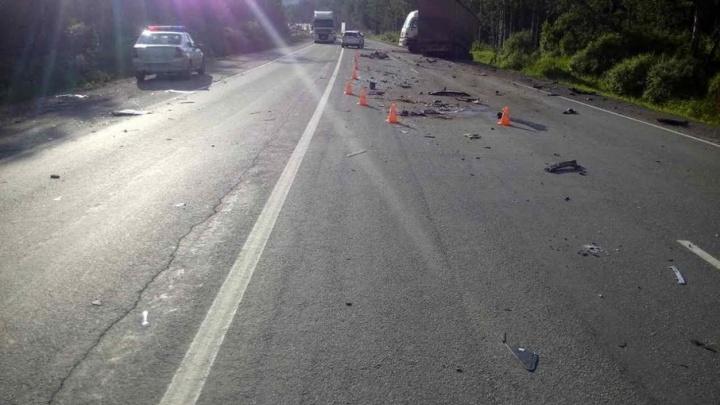 Ford врезался в фуру: водитель легковушки погиб