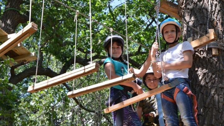 РУСАЛ подарил волгоградским детям верёвочный парк