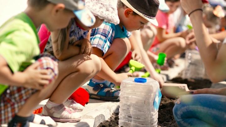 Молодежь «ЕвроХим-ВолгаКалия» помогает юным агрономам
