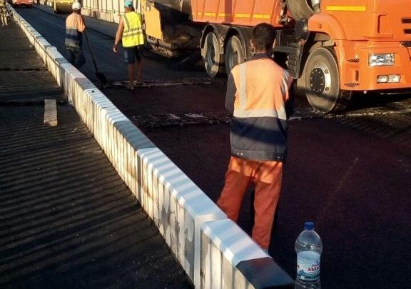 В Ростове откроют в выходные часть отремонтированного моста Стачки