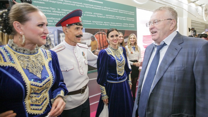 Владимир Жириновский хочет соединить Ростов и Москву скоростным поездом «Сапсан»