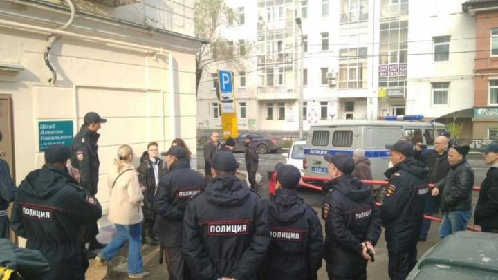 В Перми задержали еще двух активистов штаба Навального