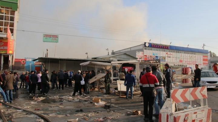 Эксперты рассматривают три версии причины пожара на «Темернике»