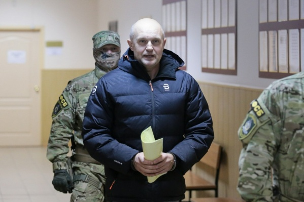 Сергей Давыдов в суде был спокоен и рассудителен