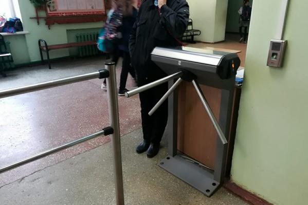 В двух школах Ярославля появятся турникеты