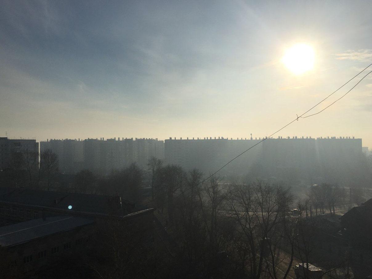 На остановке «Солнечный берег» в Ленинском районе не очень солнечно