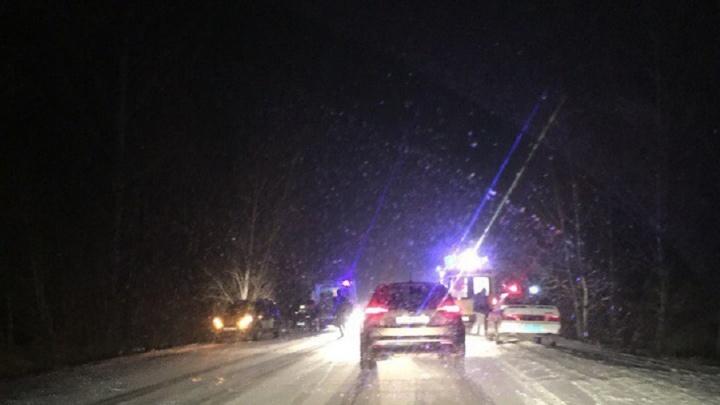 Полиция назвала обстоятельства смертельной аварии под Волгоградом