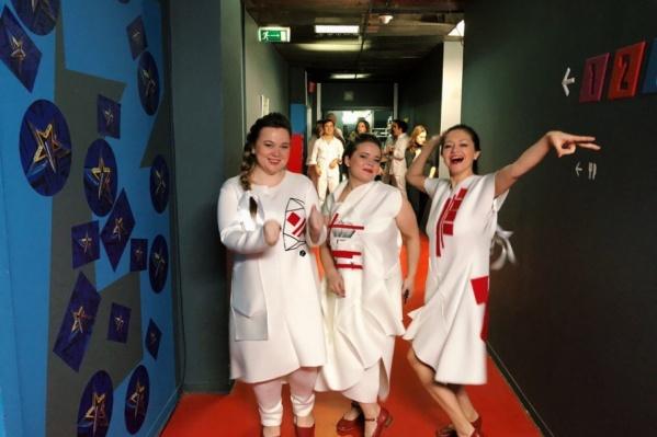 Девушки покорили зрителей и жюри своей любовью к фольклору и энергетикой