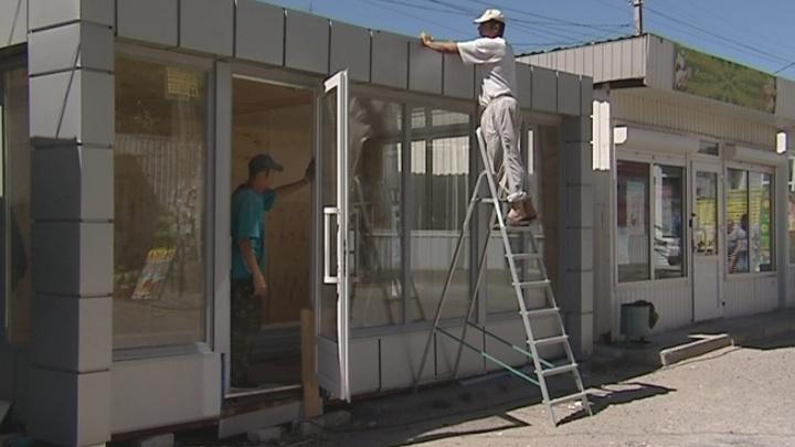 В Краснооктябрьском районе Волгограда устанавливают новые павильоны
