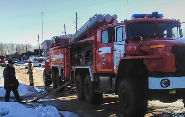 В Челябинской области на пожаре в частном доме погиб четырёхлетний малыш